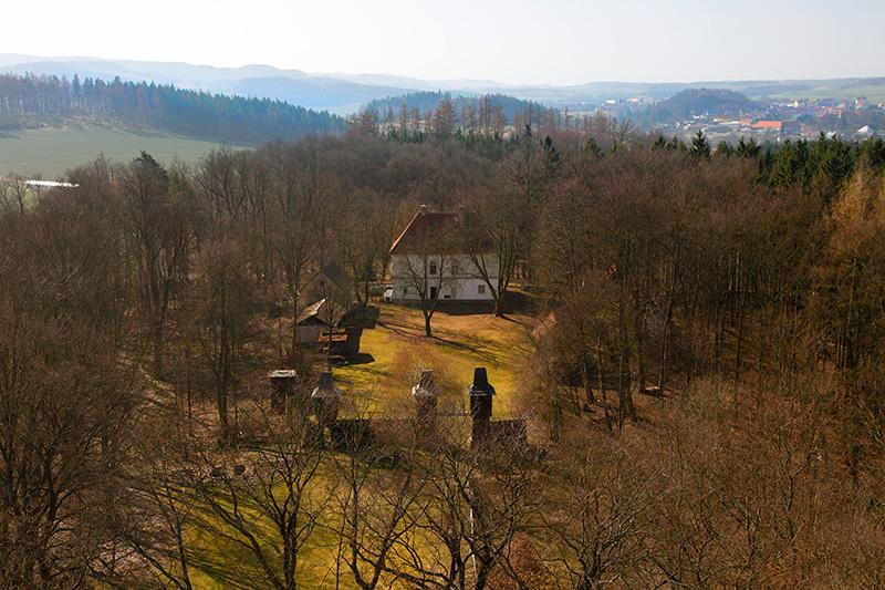 pohled z věže - Ivan Anderle